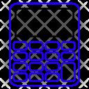 Calculator Calculation Key Icon