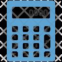 Calc Calculator Math Icon