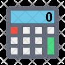 Calculator Chart Atm Icon