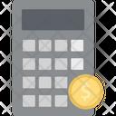 Calculator Device Arithmetics Calculating Machine Icon