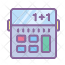 Calculator Numbers Math Icon