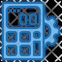 Setting Calculator Tools Account Icon