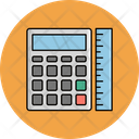 Calculator With Scale Icon