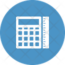 Calculator With Scale Accounting Calculation Icon