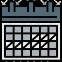 Calendar Planning Agenda Icon
