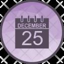 Calendar Christmas Xmas Icon
