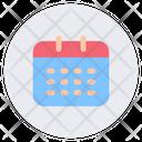 Calendar User Interface App Icon