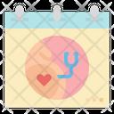 Calendar Pregnant Check Icon