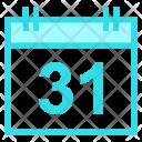 Calendar Halloween Day Icon