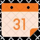 Calendar Event Date Icon