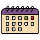 Calendar Yearbook Daybook Icon