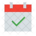 Calendar Checked Date Icon