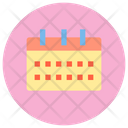 Calendar Date Meeting Icon