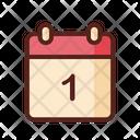 Calendar Newyear Celebration Icon