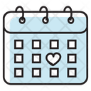 Calendar Daybook Timetable Icon