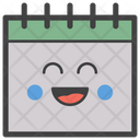 Calendar Emoji Calendar Emoticon Emotion Icon