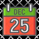 Calendar December Xmas Icon