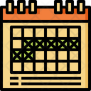 Calendar Event Holiday Icon