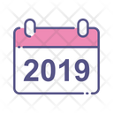 Calendar New Year Calendar New Year Icon