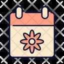 Calendar Spring Easter Icon