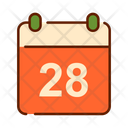 Calendar Thanksgiving Thanksgiving Day Icon