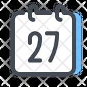 Calendar Date Event Icon