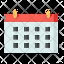 Calendar Schedule Planning Icon
