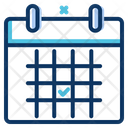 Calendar Schedule Appointment Icon