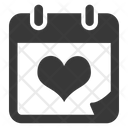 Calendar Wedding Day Wedding Icon