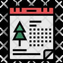 Calendar Christmas Month Christmas Day Icon