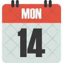 Calendar Date Number Icon