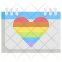 Calendar Lgbt Homosexual Icon