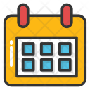 Meeting Schedule Appointment Icon