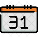 Calendar Halloween Date Icon