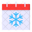 Calendar Season Winter Icon