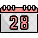 Calendar Thanksgiving Day Icon
