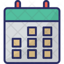 Calendar Time Yearbook Icon