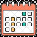 Calendar Planner Yearly Calendar Icon