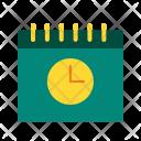 Date Time Calendar Icon