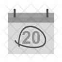 Calendar Marked Date Icon