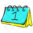 Schedule Event Planner Chronology Icon