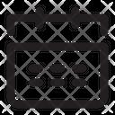 Ui Web Calendar Icon