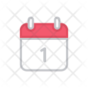 Calendar Upcoming Events Icon