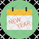 Calendar Newyear Date Icon