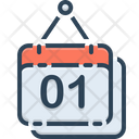 Calendar Reminder Holiday Icon