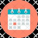 Calendar Schedule Timeframe Icon