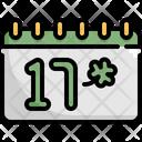 Calendar Saint Patricks Day Patrick Icon