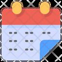 Calendar Schedule Time Icon