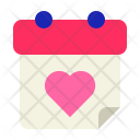 Love Date Month Icon