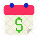 Salary Date Month Icon